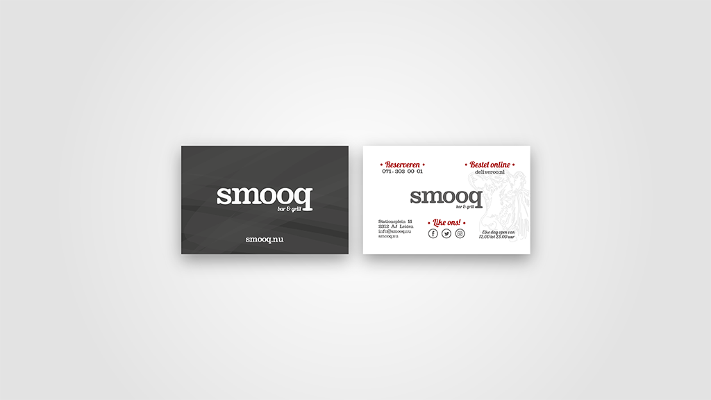 smooq bar & grill | Huisstijl