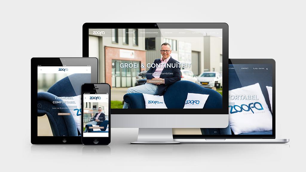 ZOOFA| Responsive Website