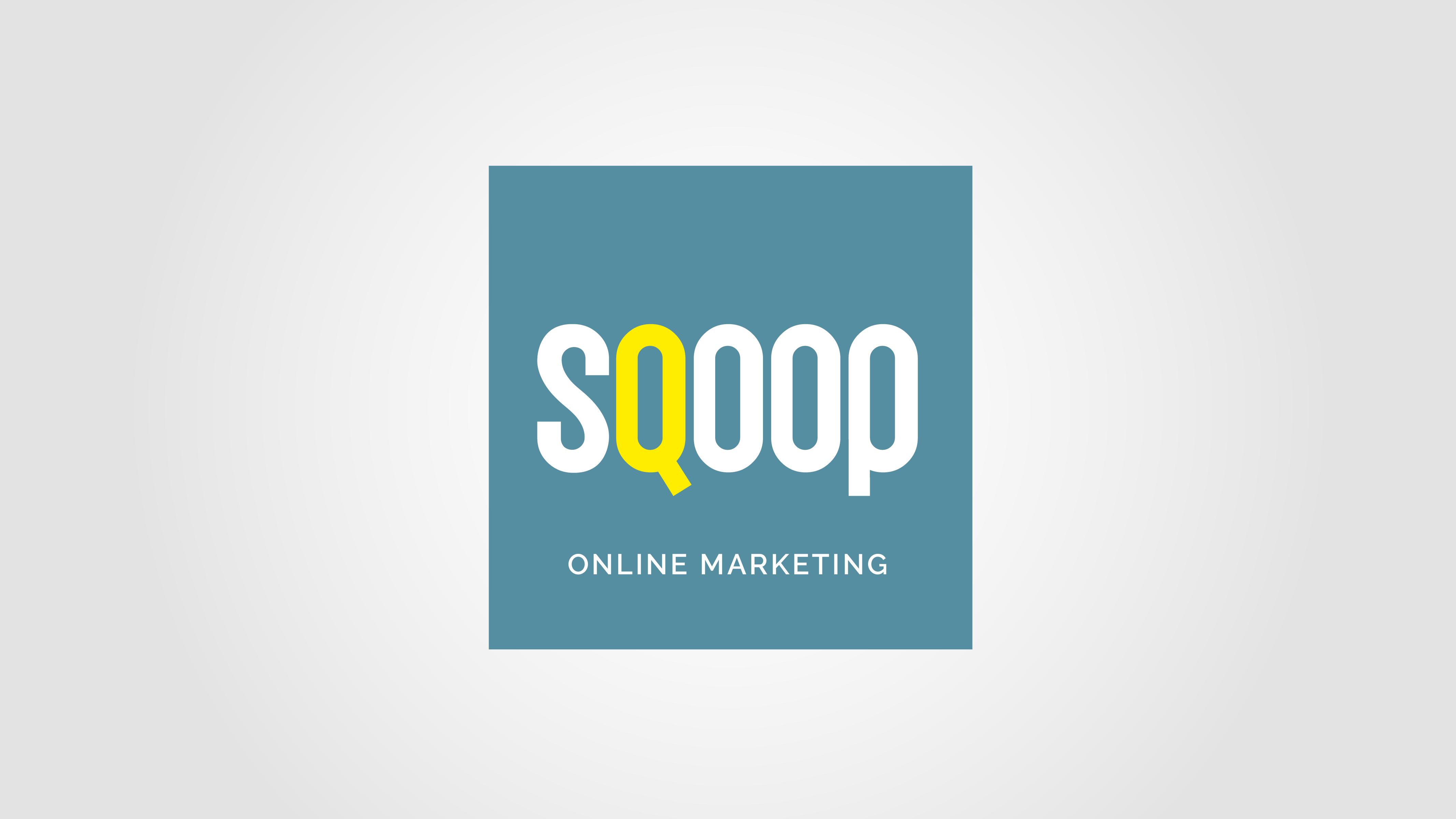 SQOOP Online Marketing | Logo