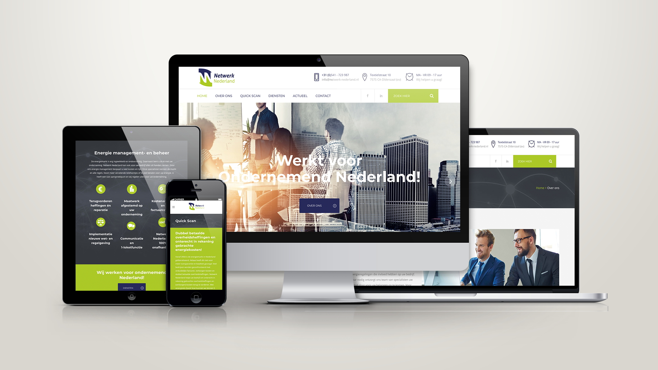 Netwerk Nederland Website | SQOOP Online Marketing