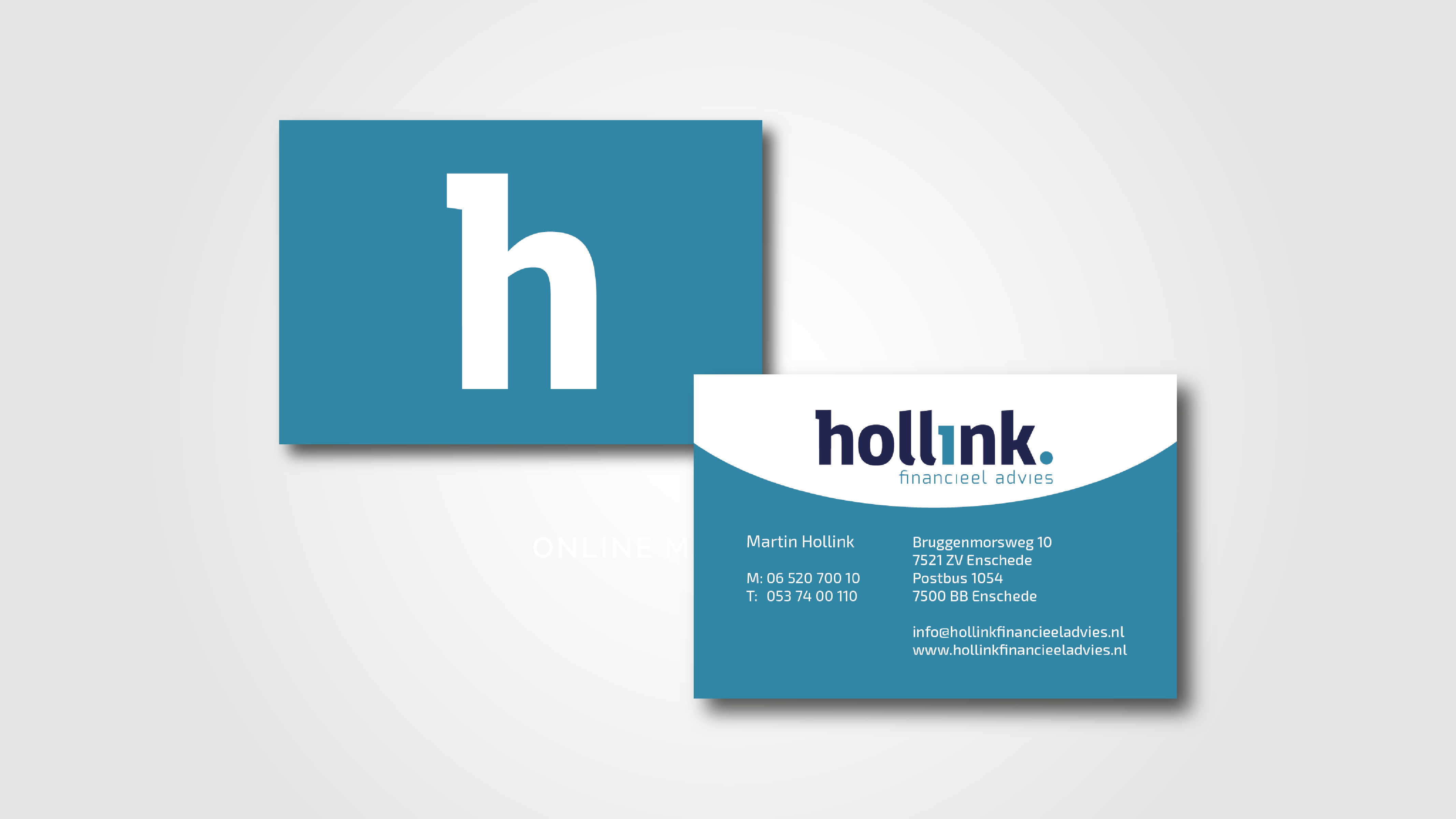 Hollink Financieel Advies | l Visitekaartjes | SQOOP Online Marketing